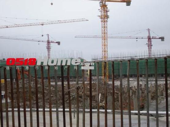 公园壹号项目正在施工中