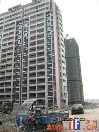 海基·悦城国际小区内部实景图