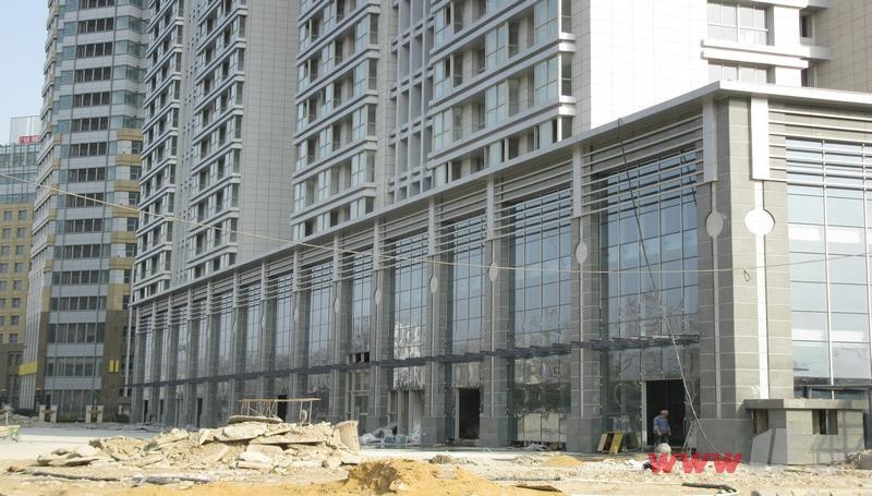 东盛·阳光大厦项目现场