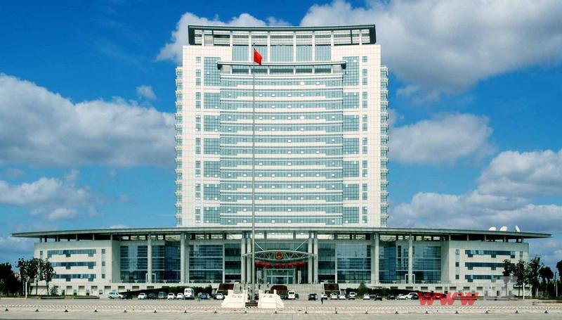 东盛·阳光大厦项目周边的市政府大楼