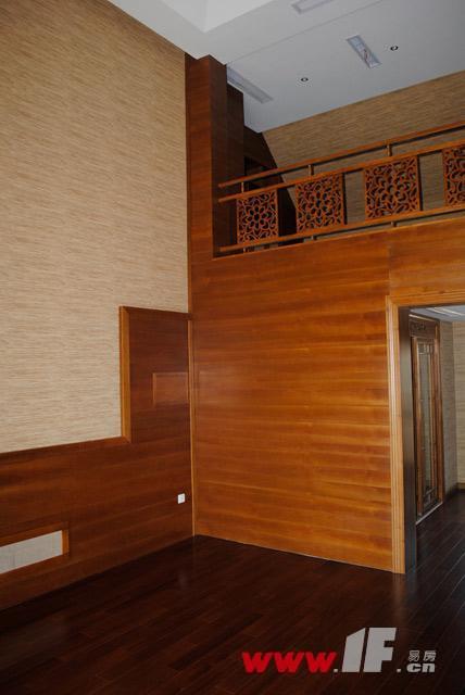 香溢·江南香溢江南东南样风情样板房六米挑高客厅