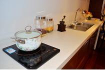 53平二室户型的样板间-厨房台面