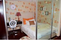 53平方米的二室户型的样板间-一楼卧室