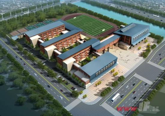 新城小学规划图 高清图片