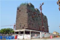 6#楼小高层已封顶