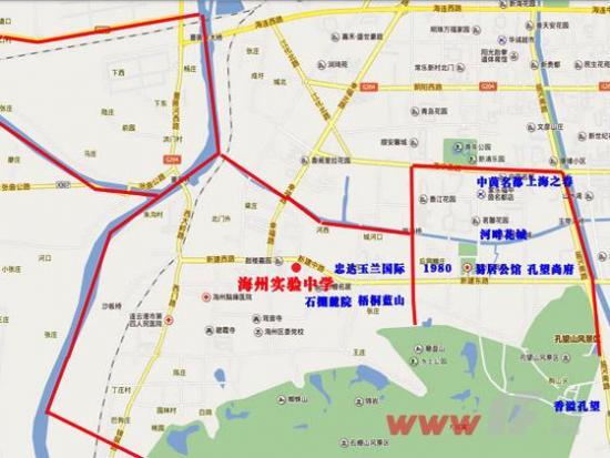 0518独家解析2014年港城学区划分之海州篇