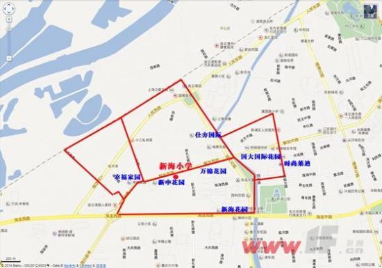 0518独家解析2014年港城学区划分之新浦篇-连云港房产