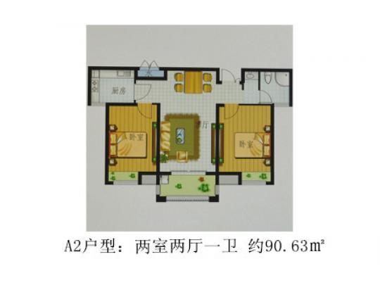 开间11米进深8米房屋设计图展示