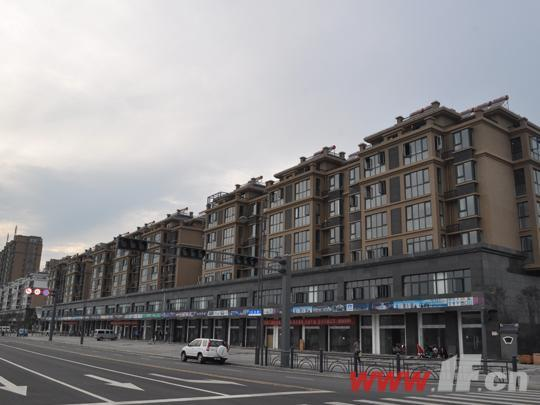 兩層商鋪沿街效果圖