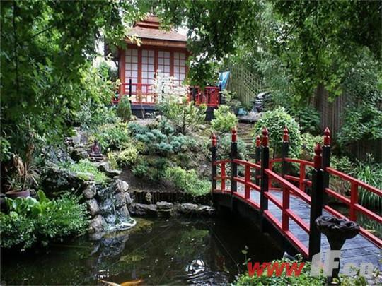 英国设计师花30年建日式庭院图片