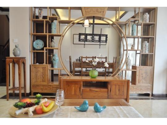 叠加排屋(现代中式风格)图片