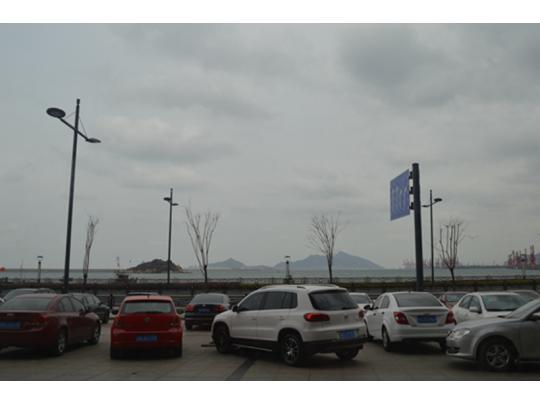 项目位置——海滨大道