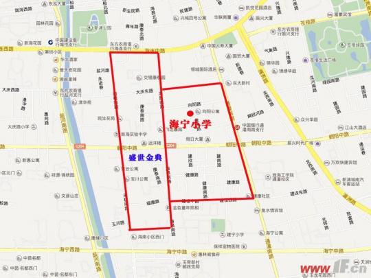海宁市区地图高清版