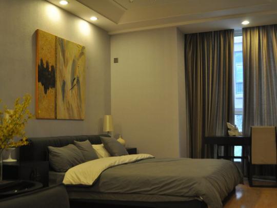 克拉公寓卧室