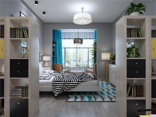 尖果公寓卧室