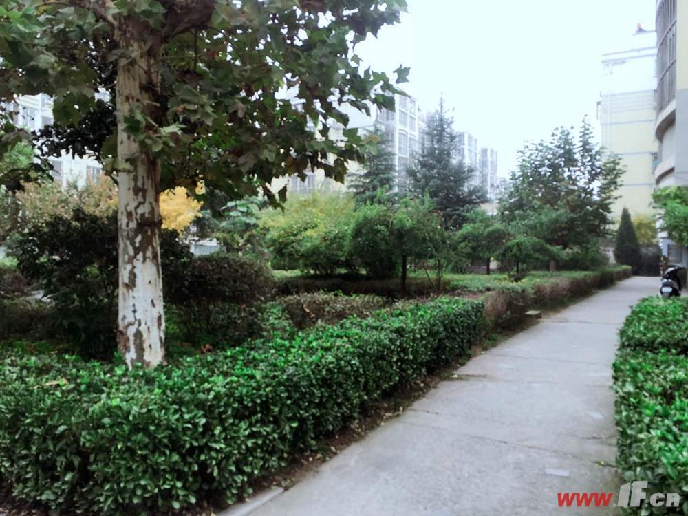 万山城市花园小区实景