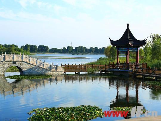 """连云港东海县西双湖湿地公园跻身""""国字号"""""""