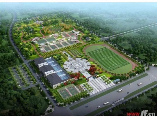 全民健身中心开建