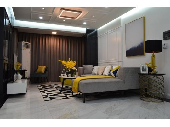 三室户型——客厅