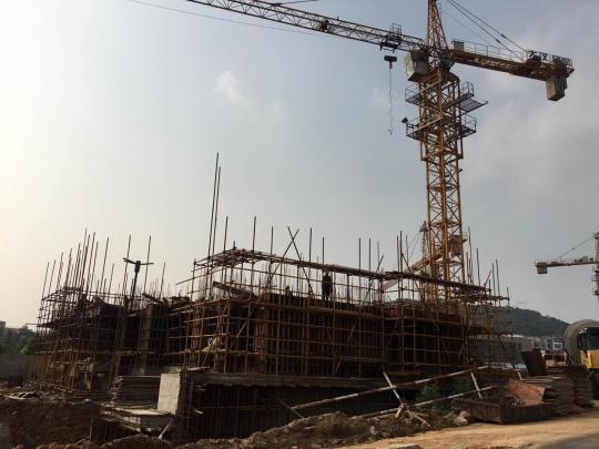 在建中的三期高层房源