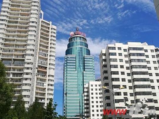 北京市亚运村北辰附近某小区楼外景