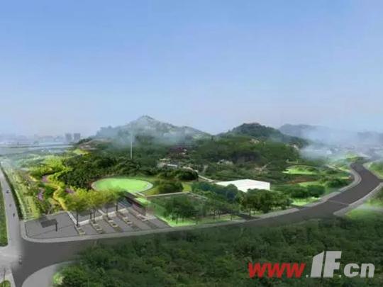 凤凰星城西凤凰山公园效果图(在建)