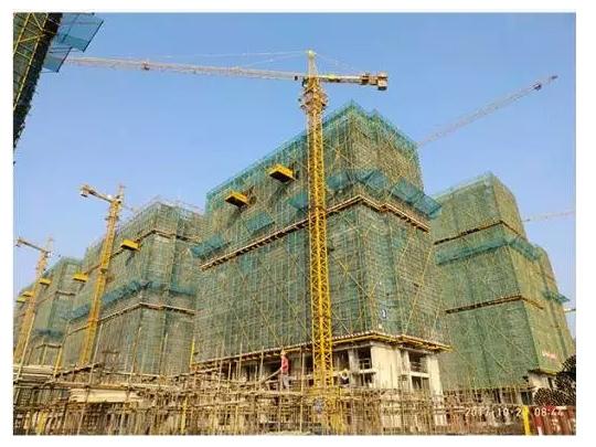 3#楼十五层主体结构施工