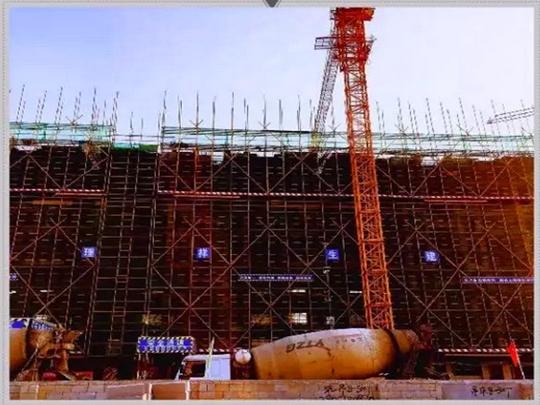 13#楼—8层结构完成