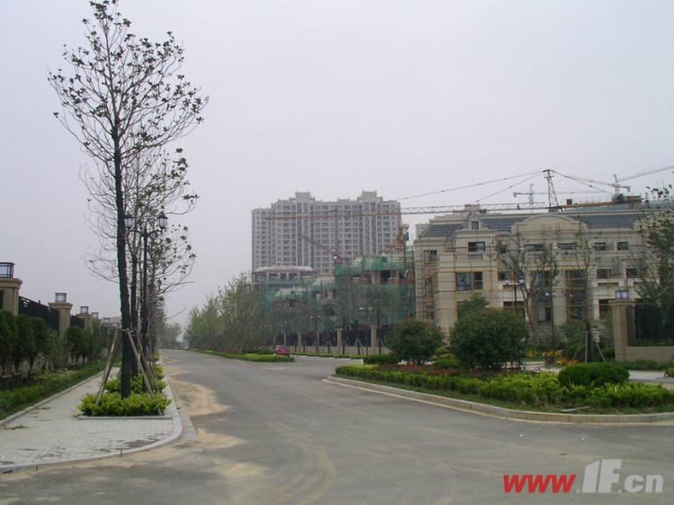 绿地世纪城小区门口道路