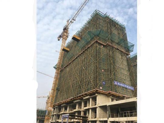 1#结构施工