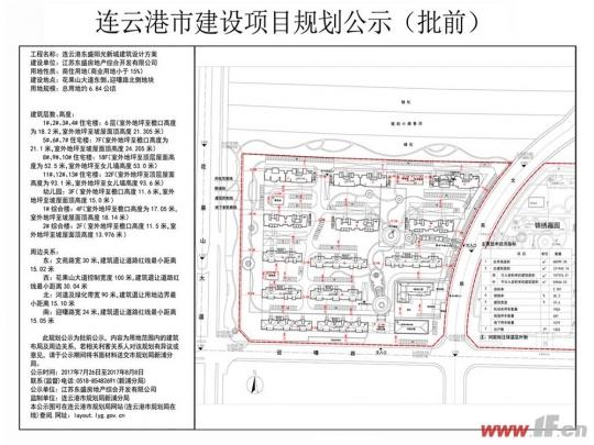 阳光新城规划图