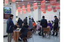 上海之春元旦开盘现场