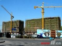 1、2号楼封顶 云鼎家园最新工程进度报告