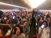 今后 连云港市民在飞机上也可以玩手机啦!
