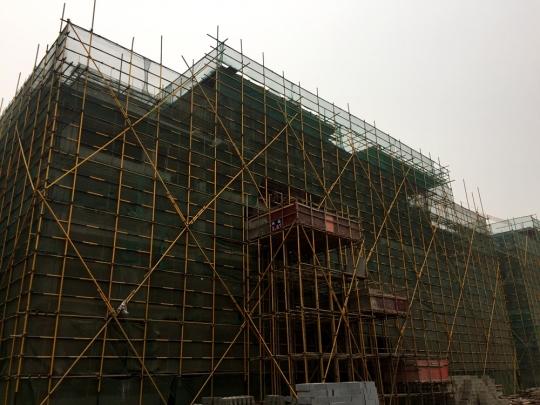 8#楼结构封顶