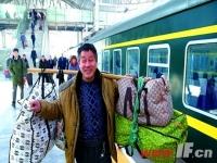 春运客流波澜不惊 连云港至南京航班首航