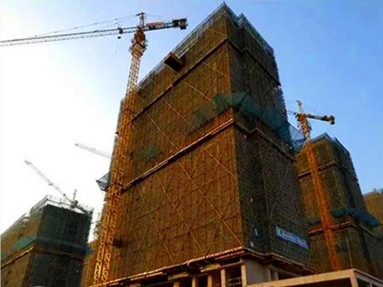 1#楼结构封顶