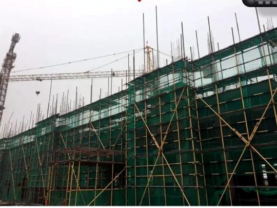 2#楼结构封顶