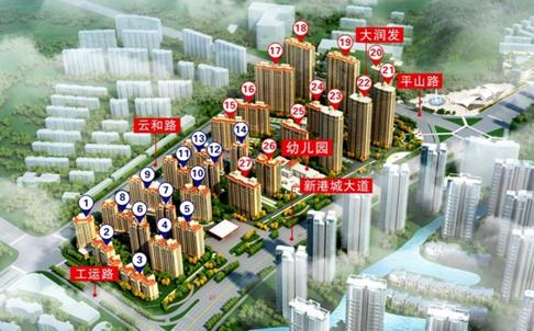 福港·好莱坞三期74-138平米20号楼现已公开销售中!