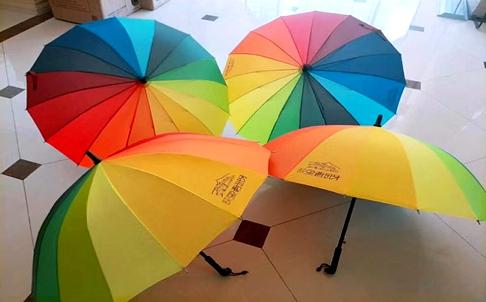 七色彩虹伞免费送 ,映象西班牙传递五月温暖!