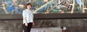 东庐童经理:在连打造一线城市人居户型住宅