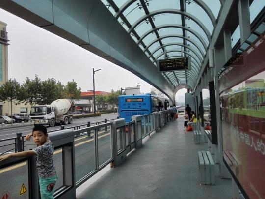 BRT平山路站台