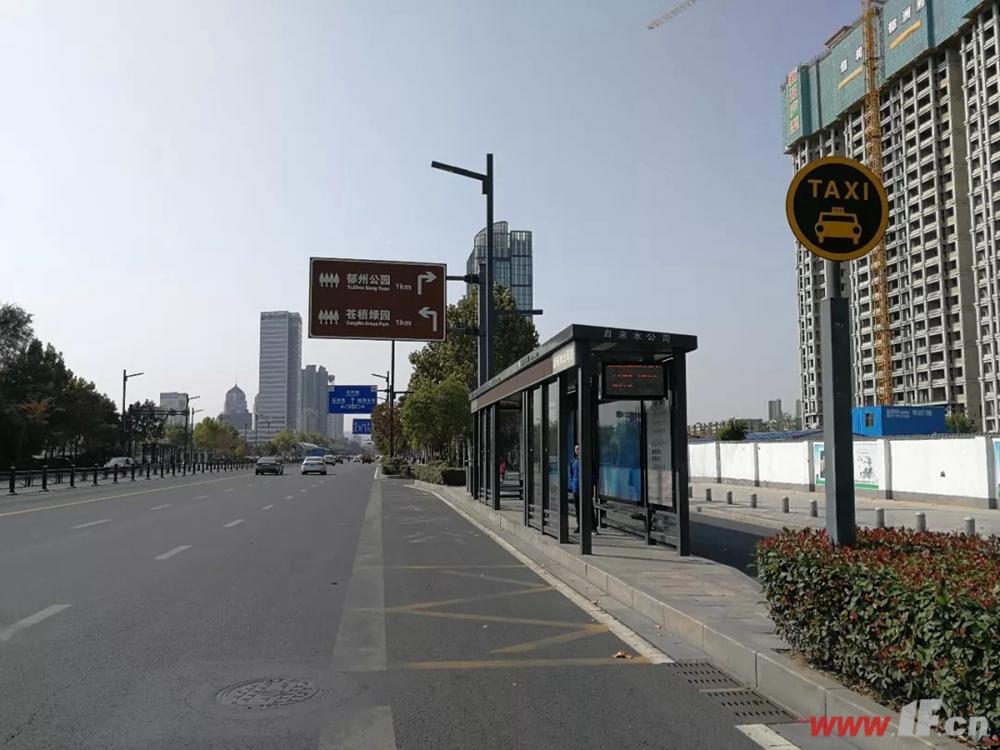 恒润郁洲府公交站
