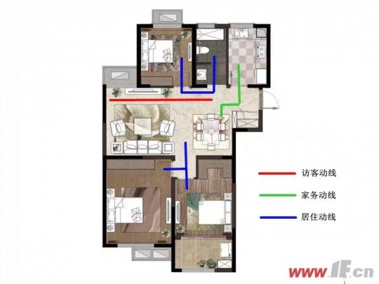 阳光新城12#楼户型曝光 没比这更方正了-连云港房产网