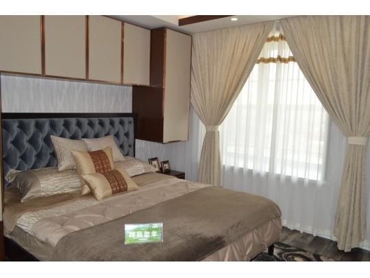 106平米样板房卧室
