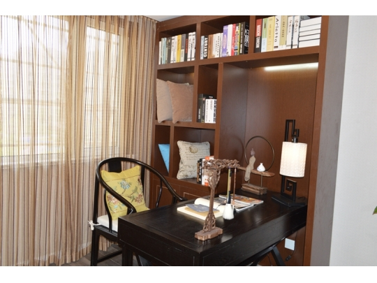106平米样板房书房