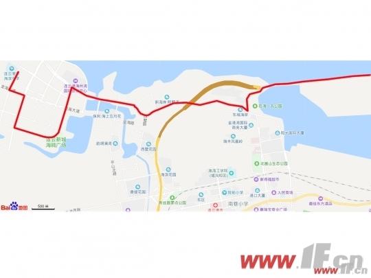 新辟游10路途经小区门口 熙墅湾交通升级-连云港房产网