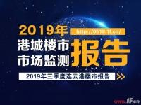 2019年度连云港市房地产三季度市场报告