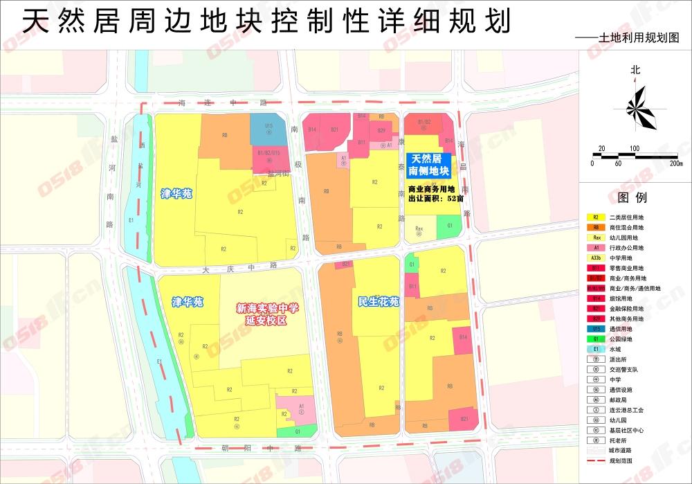 连云港自然资源和规划局网站接连发布三个地块控制性详细规划(征求意见稿),涉及天然居周边地块、科教园片区、墟沟站片区。