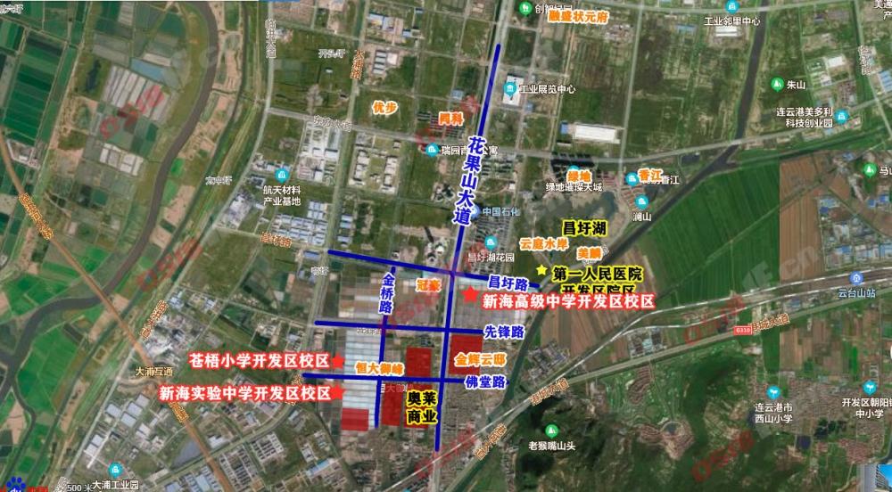 开发区这所学校将建已提上日程!位置在就在这……-连云港房产网